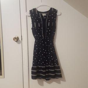 Polka Dots Strips Dress